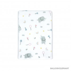 Ballon Elephant Tottori Baby Towel
