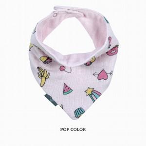 Pop Color Bandana Bib