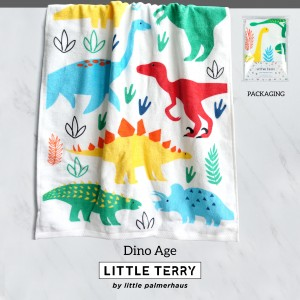 DINO AGE LITTLE TERRY TOWEL