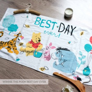 WINNIE THE POOH BEST DAY EVER LITTLE TERRY TOWEL