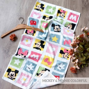 MICKEY & MINNIE COLLORFUL LITTLE TERRY TOWEL