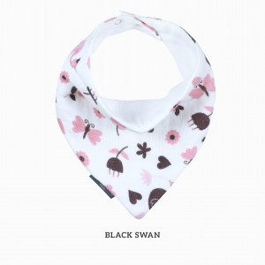 Black Swan Bandana Bib