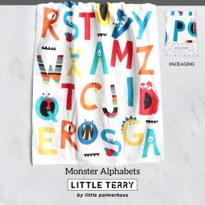 MONSTER ALPHABET LITTLE TERRY TOWEL