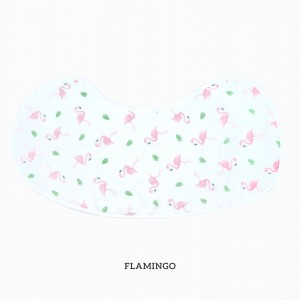 Flamingo Burp & Bib