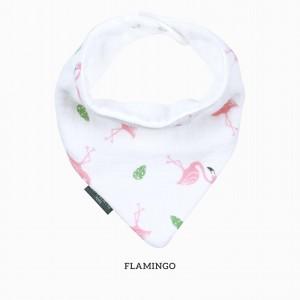 Flamingo Bandana Bib