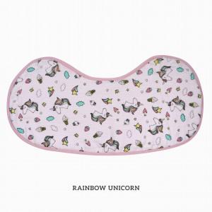 RAINBOW UNICORN Burp & Bib