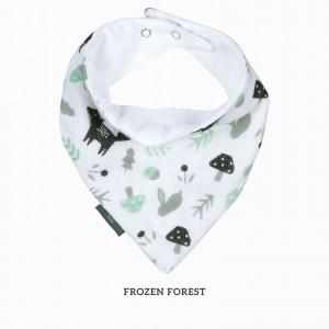 Frozen Forest Bandana Bib