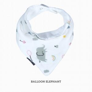 Ballon Elephant Bandana Bib