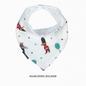Marching Soldier Bandana Bib