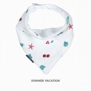 Summer Vacation Bandana Bib