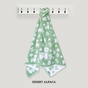 Desert Alpaca Hooded Towel