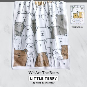 WE ARE THE BEARS LITTLE TERRY TOWEL