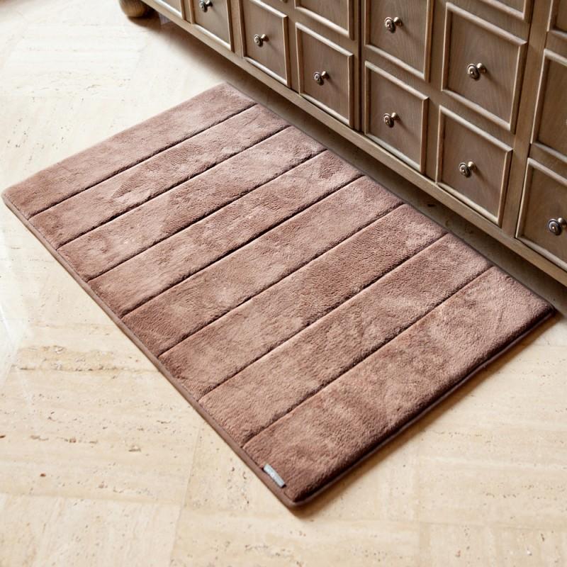 solid home mats fmt wid mat hei memory mohaw brown qlt target bath a mohawk foam p