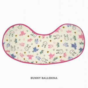 Bunny Ballerina Burp & Bib