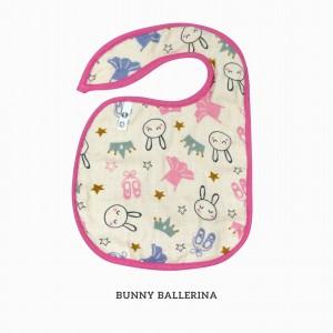 Bunny Ballerina Snappy Bib