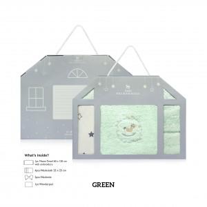 GREEN Baby Newborn Giftset