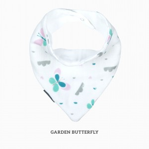 Garden Butterfly Bandana Bib