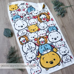 POOH SKETCH LITTLE TERRY TOWEL