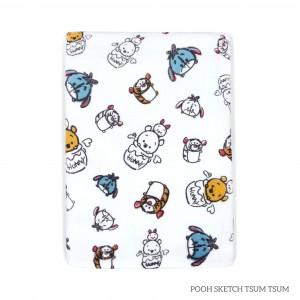 Pooh Sketch Tottori Baby Towel