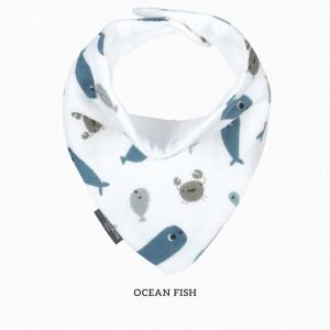 Ocean Fish Bandana Bib