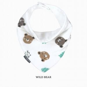Wild Bear Bandana Bib