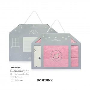 ROSE PINK Newborn Gift Set