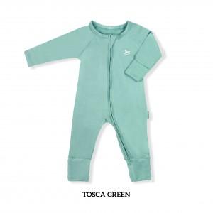 TOSCA GREEN Baby Sleepsuit