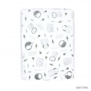 Grey Owl Tottori Baby Towel