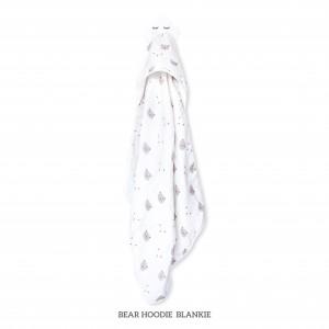 BEAR HOODIE BLANKIE