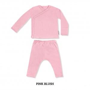 BLUSH Baby Kimono Long Sleeve Set