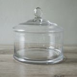 Glass Cake Dome Round