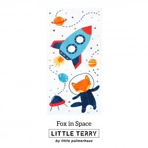 FOX IN SPACE LITTLE TERRY TOWEL