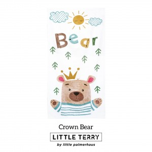CROWN BEAR LITTLE TERRY TOWEL