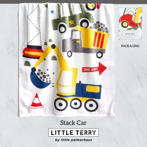 STACK CAR LITTLE TERRY TOWEL