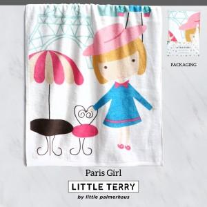 PARIS GIRL LITTLE TERRY TOWEL