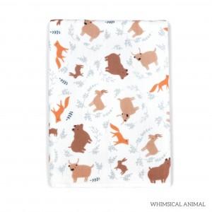 Whimsical Animal Tottori Baby Towel