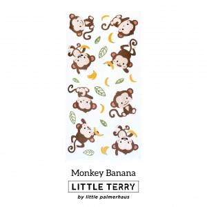 MONKEY BANANA LITTLE TERRY TOWEL