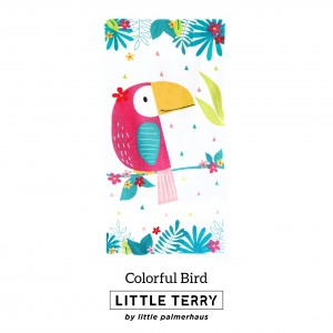 COLORFUL BIRD LITTLE TERRY TOWEL