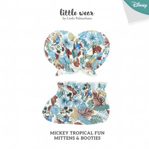 MICKEY TROPICAL FUN Mittens & Booties
