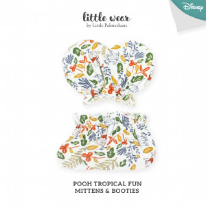 POOH TROPICAL FUN Mittens & Booties