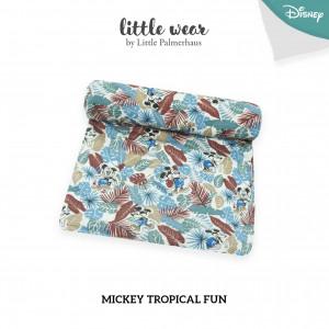 Mickey Tropical Fun Little Wear Basic Swaddle