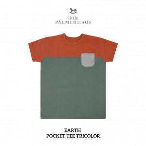 EARTH Pocket Tee Tricolor
