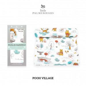 Pooh Village Muslin Swaddle