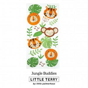 JUNGLE BUDDIES LITTLE TERRY TOWEL