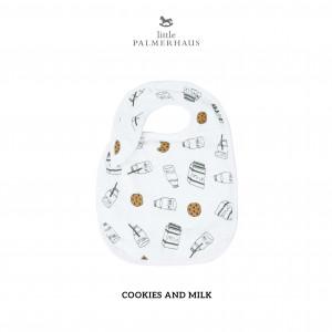 Cookies & Milk Snappy Bib