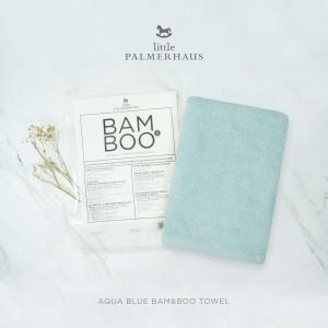 Aqua Blue Bam & Boo Bamboo Towel