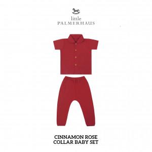 CINNAMON ROSE Collar Baby Set