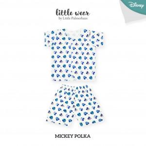 Mickey Polka Little Wear Short Sleeve