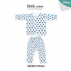 Mickey Polka Little Wear Long Sleeve