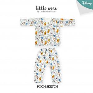 Pooh Sketch Little Wear Long Sleeve